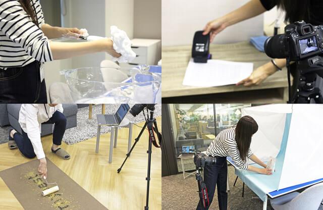 全商品を自社施設で比較検証しています!