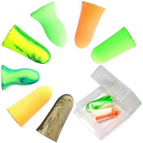 MOLDEX 使い捨て耳栓 お試し8種エコパック ケース付  1枚目