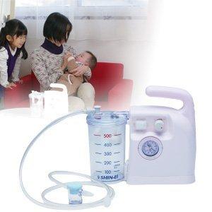 新鋭工業 スマイルキュート KS-500 医療用鼻水吸引器の画像