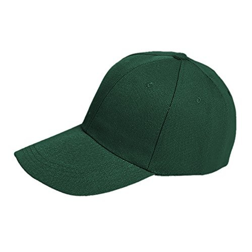 Opromo ポロスタイルロープロファイル野球帽 - ダークグリーンの画像