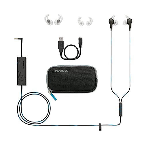 Bose QuietComfort 20 Acoustic キャンセリングイヤホン ブラック 1枚目