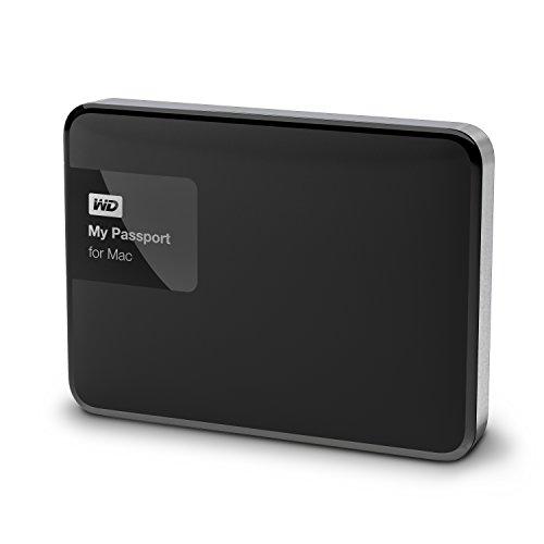 WD HDD ポータブルハードディスク 1TB My Passport for Mac WDBJBS0010BSL-PESN USB3.0 1枚目