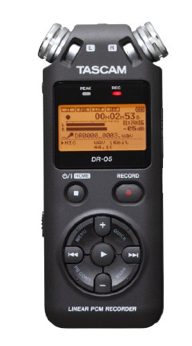 TASCAM リニアPCMレコーダー DR-05 1枚目