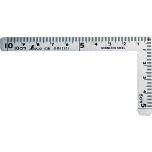 シンワ 曲尺小型 三寸法師ステン 12101 1枚目