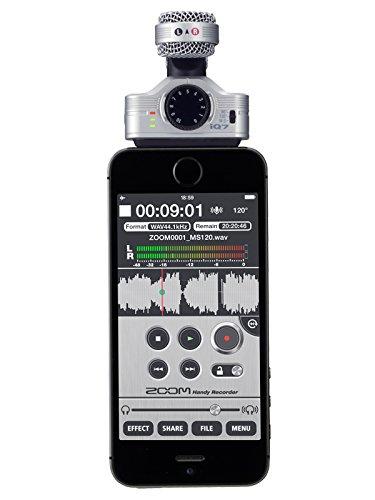 ZOOM MSステレオマイクロフォン iQ7 1枚目