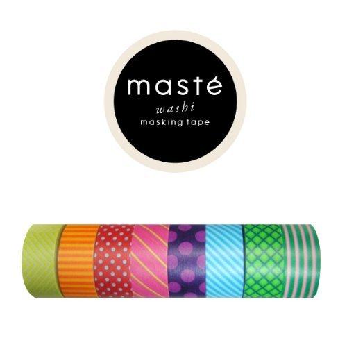 マークス マスキングテープ 8巻セットの画像
