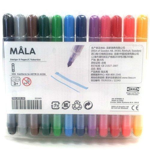 IKEA MALA サインペンの画像