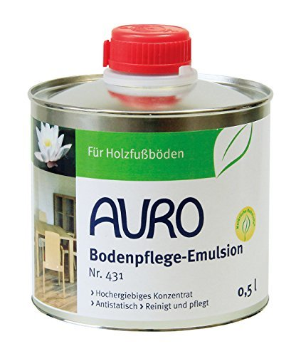 AURO(アウロ) No.431 天然床ワックス 0.5Lの画像