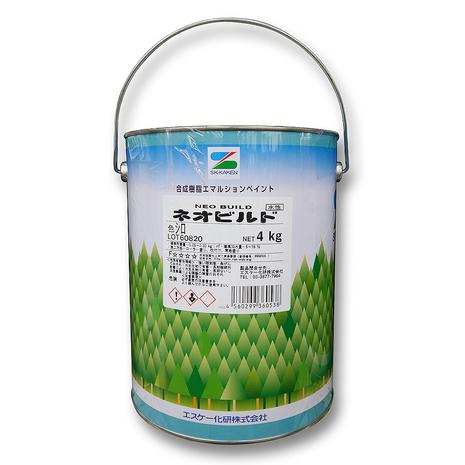 エスケー化研 ネオビルド シロ 4kg 2枚目