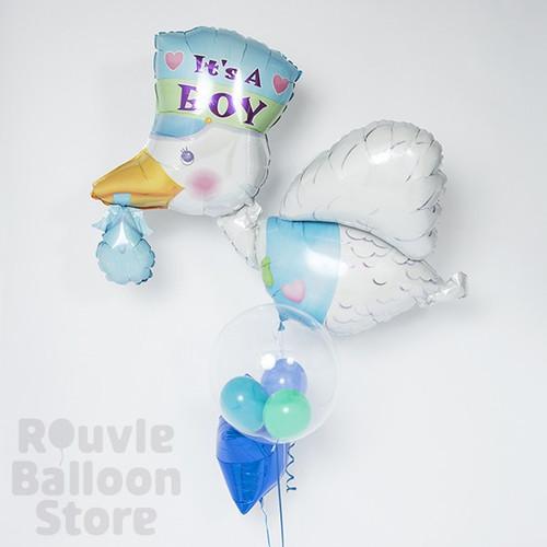 Rouvle Balloon Store 幸せを運ぶペリカンの画像