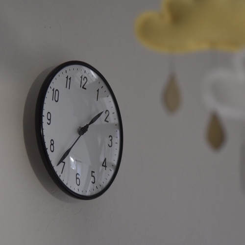 Rosendahl Arne Jacobsen Station Wall Clock 210 43633 1枚目