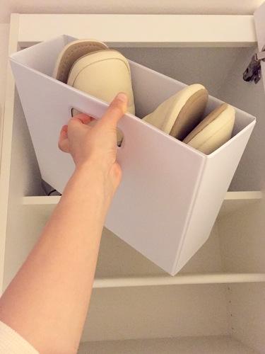mon・o・tone ファイルボックス ホワイト 2枚目