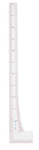 KAWAGUCHI 洋裁用 L尺定規 透明 60cm 1枚目