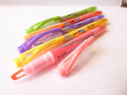 三菱鉛筆  蛍光ペン プロパス クイックドライ 5色 1枚目