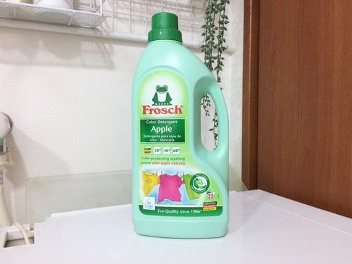 旭化成ホームプロダクツ フロッシュ 衣料用洗剤 レギュラータイプ アップル 1枚目