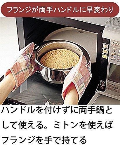 宮崎製作所 十得鍋 ソースポット16・18・20cm 4枚目