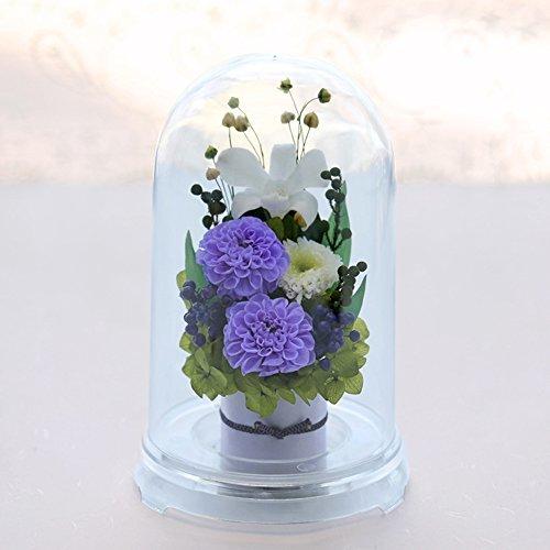 お供え花プリザーブドフラワー(リラ)の画像