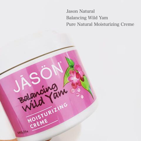 ジェイソンナチュラル バランシング ワイルドヤム ピュアナチュラル モイスチャライジングクリーム 1枚目