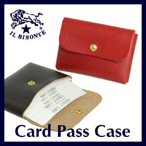 IL BISONTE フラップワンポケットカードケース 2枚目