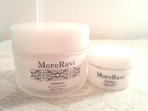 MoreRavi 【PR】エステティック UVカットクリーム 日やけ止め・化粧下地クリーム 1枚目