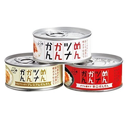 味の明太子ふくや めんツナかんかん 食べ比べ3缶セット 2枚目