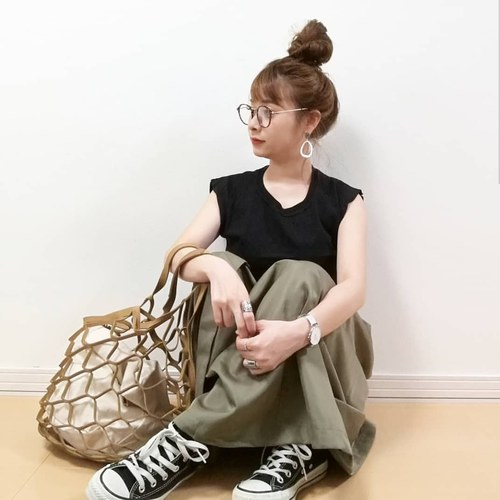 リエディ トレンチ風スカート 2枚目