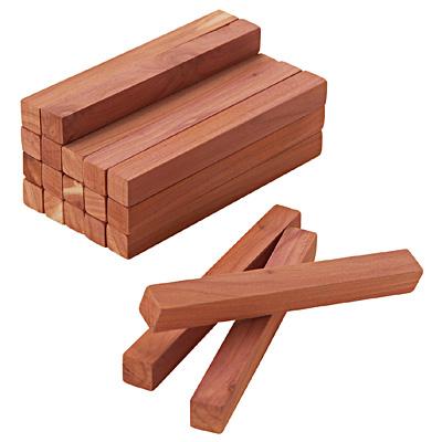 無印良品 レッドシダーブロック・紙やすり付 20本入・約幅10×奥行1×高さ1cm 1枚目
