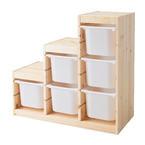 IKEA TROFAST ボックス付き 1枚目