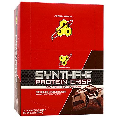 BSN Syntha6 プロテインクリスプ チョコレート味  1枚目