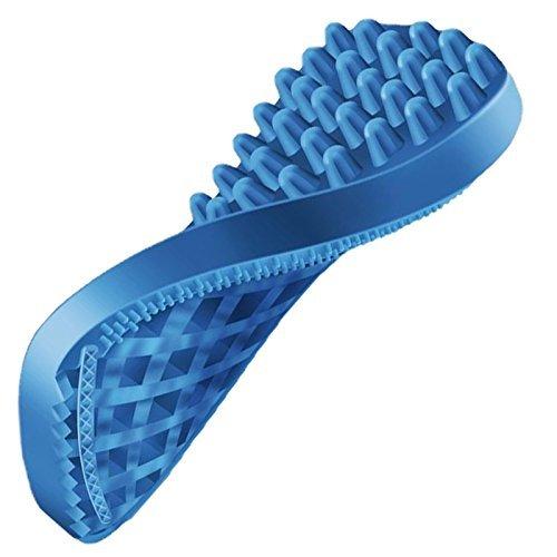 ラバーブラシ ソフト・短毛用 ブルーの画像