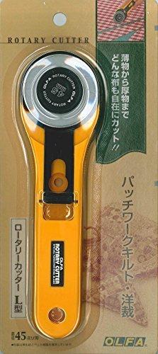 オルファ ロータリーカッター L型 直径45ミリ刃 N-RLの画像