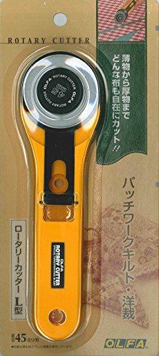 オルファ ロータリーカッター L型 直径45ミリ刃 N-RL 1枚目