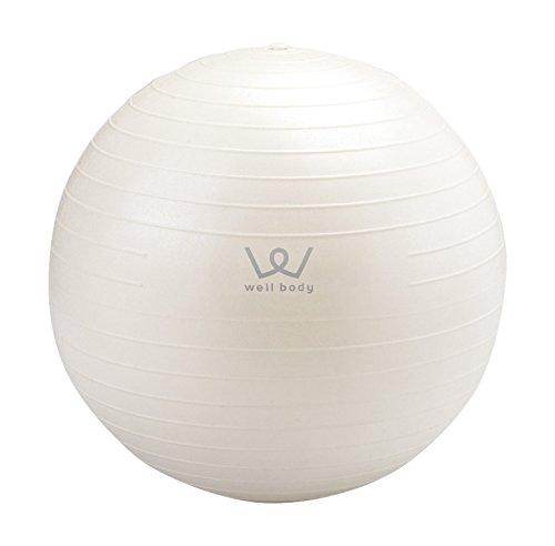 ALINCO  バランスボール 30cm WB123 ホワイト 1枚目