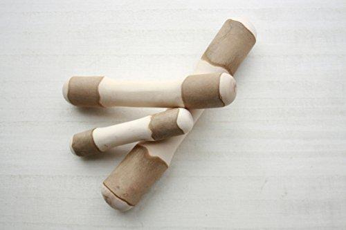 ドッグズライフ 国産天然木の噛むおもちゃ 自然木タイプ 椿 1枚目