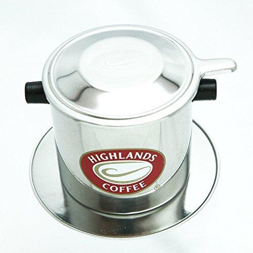 ベトナムコーヒー ステンレスドリッパー フィルターの画像