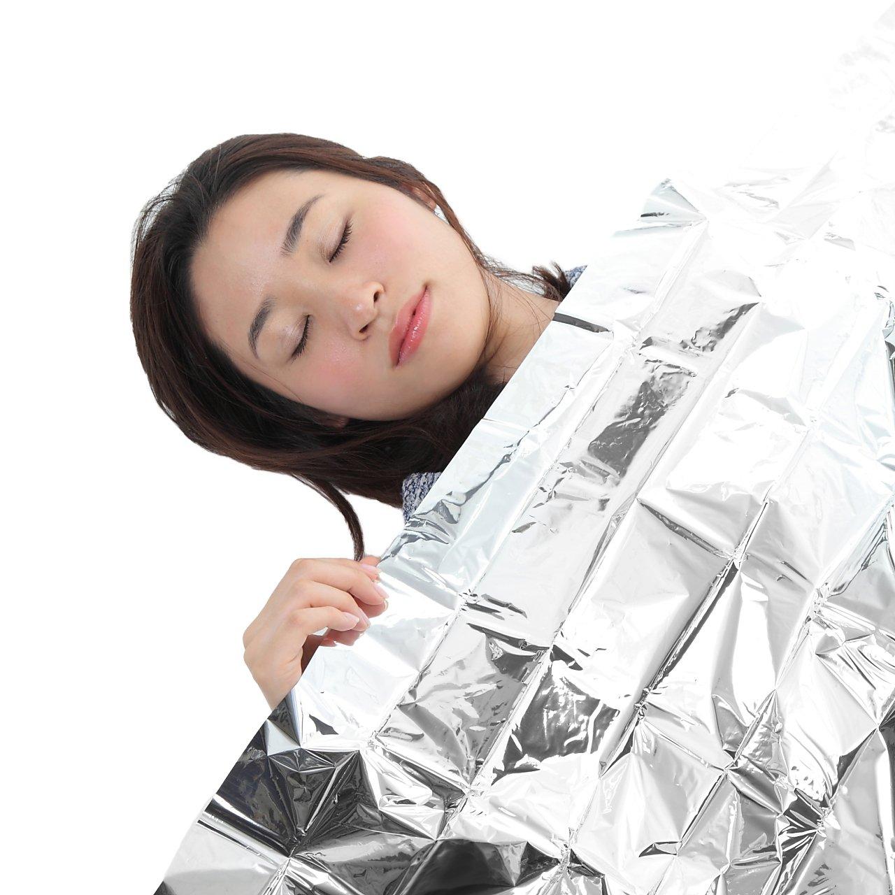 シートタイプ:体を包んだり、ブランケットとして使える