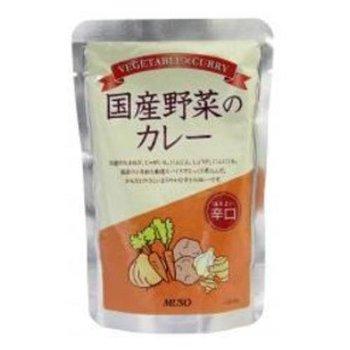 ムソー 国産野菜のカレー 辛口 200g
