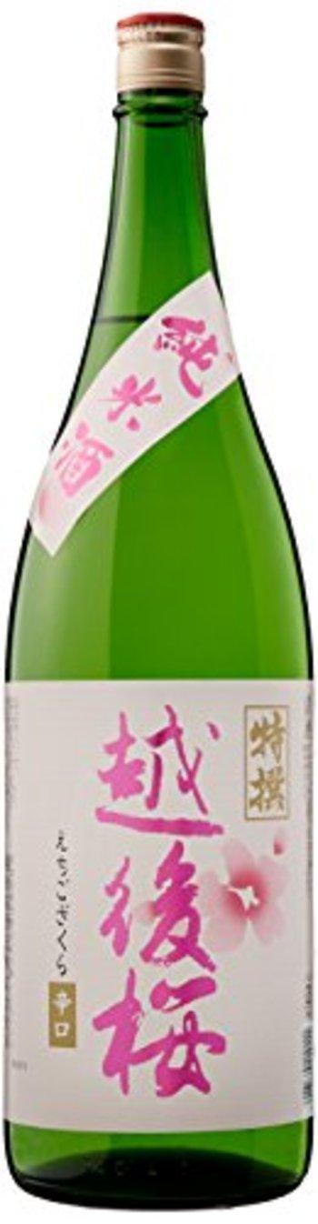 越後桜 純米酒
