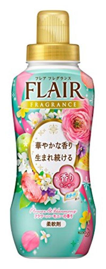 フレアフレグランス 柔軟剤 フラワー&ハーモニーの香り 570ml