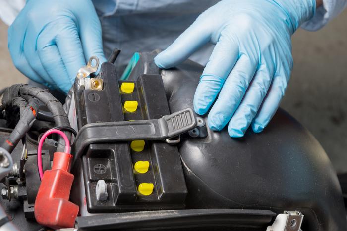 使用機車電瓶供電的類型
